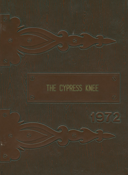 The Cypress Knee, 1971, Front Cover