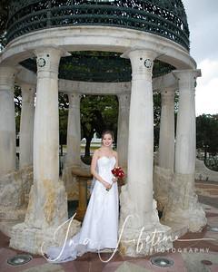 Rice University Bridal Photos