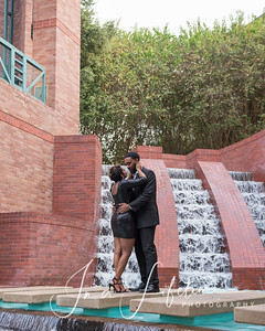 Downtown Houston romantic photos