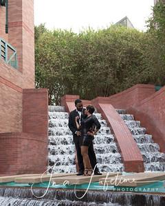 Downtown Houston romantic photos