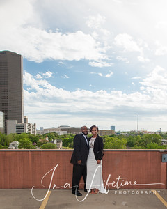 Houston Skyline engagement photos