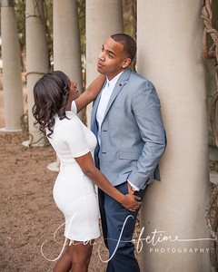 Hermann Park engagement photos