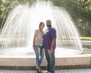 Prairie View A&M engagement session