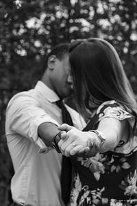 Tiny Boxwoods engagement photos