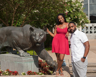 UH Cougars couple photos