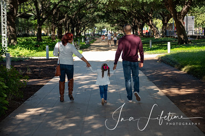 Discovery Green Family photos