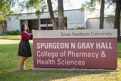 Texas Southern University Senior Photography Photo