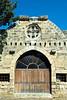 Doorway and Venetian architecture in Famagusta, Cyprus.