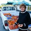 Women selling oranges