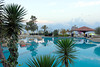 Swimming pool area of the Jasmine Court Hotel in Girne, Cyprus.