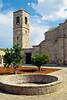The St. Barnabas Monastery courtyard near Salamis, North Cyprus.