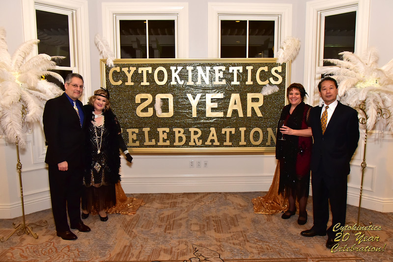 Cytokinetics 20th Anniversary Party - 20th January 2018.