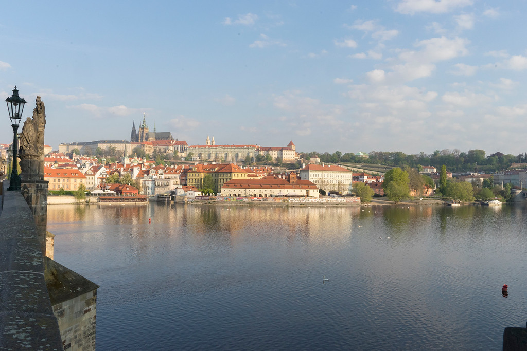 Moldau Rier from Charles Bridge