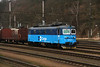 122 029 (91 54 7122 029-2 CZ CDC) at Kralupy nad Vltavou on 13th February 2014