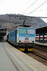 1) 163 249 (91 54 7163 249-6 CZ CD) at Usti nad Labem hlavni nadrazi on 13th February 2014 working OS6878