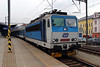 362 046 (91 54 7362 046-5 CZ CD) at Usti nad Labem hlavni nadrazi on 13th February 2014 working R611