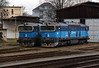753 758 & 753 754 at Kralupy nad Vltavou on 13th February 2014