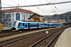 441 007 (94 54 1441 007-2 CZ CD) at Usti nad Labem hlavni nadrazi on 13th February 2014