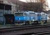 753 755 (92 54 2753 755-8 CZ CDC) at Kralupy nad Vltavou on 14th February 2014