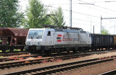 EXRA, 390 001 (91 56 6390 001-6 SK-EXRA or 189 845) at Ostrava Svinov on 14th June 2015 (2)