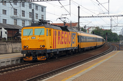 Regio Jet, 162 115 (91 54 7162 115-0 CZ-RJ) at Prague Liben on 27th June 2016 (2)