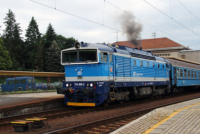 754 006 (9154 2754 006-5 CZ-CD) at Klatovy on 26th June 2016 (4)