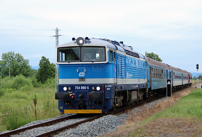 754 006 (9154 2754 006-5 CZ-CD) at Bezdekov u Klatov on 26th June 2016 (6)