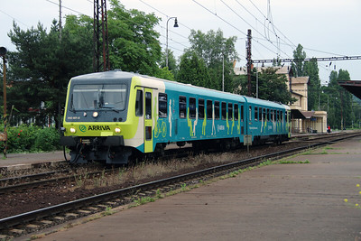 Arriva, 945 001 (95 54 5945 001-6 CZ-ARR) at Prague Vrsovice on 20th June 2016 (3)
