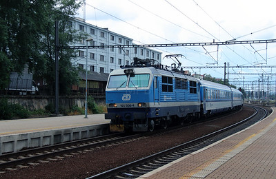 151 006 (91 54 7151 006-4 CZ-CD) at Prague Liben on 27th June 2016 (1)