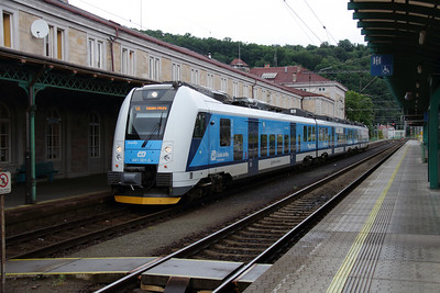 441 001 (94 54 1441 001-5 CZ-CD) at Decin Hlavni Nadrazi on 17th June 2016
