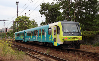 Arriva, 845 001 (95 54 5845 001-7 CZ-ARR) at Prague Vrsovice on 20th June 2016 (1)