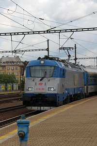 380 008 (91 54 7380 008-3 CZ-CD) at Prague Liben on 27th June 2016