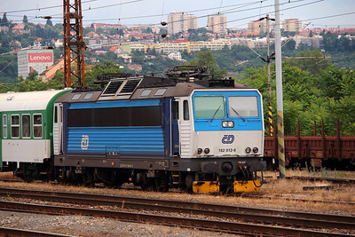 162 012 (91 54 7162 012-9 CZ-CD) at Prague Bubny on 27th June 2016  (4)