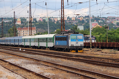 162 012 (91 54 7162 012-9 CZ-CD) at Prague Bubny on 27th June 2016  (1)