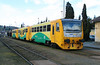 814 203 (95 54 5814 203-6 CZ-CD) at Tynec Nad Sazavou on 4th March 2015 working Os9005 (3)