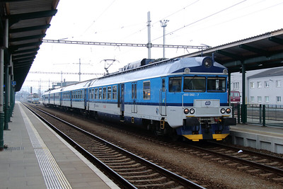 460 060 (94 54 1460 060-7 CZ-CD) at Prerov on 11th March 2015