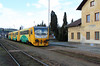 814 203 (95 54 5814 203-6 CZ-CD) at Tynec Nad Sazavou on 4th March 2015 working Os9005 (2)