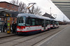 tram, 105 at Olomouc on 12th March 2015