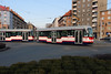tram, 114 at Olomouc on 12th March 2015