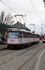 tram, 158 at Olomouc on 12th March 2015