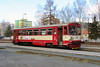810 501 at Sazava Cerne Budy on 4th March 2015 working Os9029 (4)