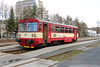 810 501 at Sazava Cerne Budy on 4th March 2015 working Os9029 (3)