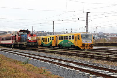 814 023 (95 54 5814 023-8 CZ-CD) at Prague Bubny Vltavska on 31st October 2017 (1)