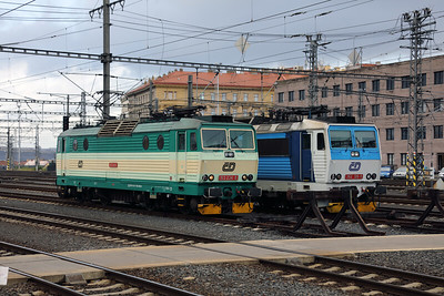 163 234 (91 54 7163 234-8 CZ-CD) at Prague Hlavni Nadrazi on 30th October 2017 (1)