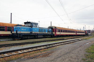 714 202 (92 54 2714 202-9 CZ-CD) at Prague Bubny Vltavska on 31st October 2017 (3)