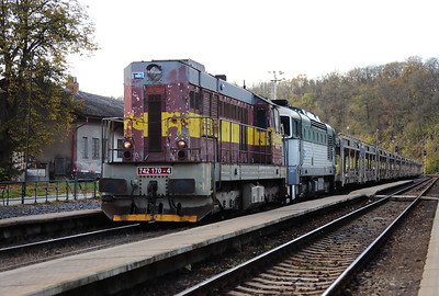 742 170 (92 54 2742 170-4 CZ-CDC) at Mlada Boleslav Hlavni Nadrazi on 30th October 2017 (10)