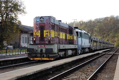 742 170 (92 54 2742 170-4 CZ-CDC) at Mlada Boleslav Hlavni Nadrazi on 30th October 2017 (10)