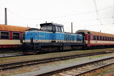 714 202 (92 54 2714 202-9 CZ-CD) at Prague Bubny Vltavska on 31st October 2017 (4)