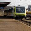 Arriva, 845 001 (95 54 5845 001-7 CZ-ARR) at Prague Vrsovice on 27th Ocotber 2017 (2)