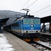 162 035 (91 54 7162 035-0 CZ-CD) at Usti nad Labem Hlavni Nadrazi on 7th February 2017
